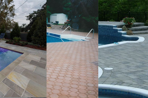 Different Types of Pool Paving